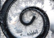 I modelli della neve Fotografia Stock Libera da Diritti