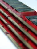 I moduli di RAM si chiudono in su immagine stock libera da diritti