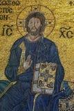 I mosaici di Zoe dell'imperatrice del XI secolo in Aya Sofya a Costantinopoli in Turchia Fotografia Stock Libera da Diritti