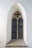 I mosaici nella chiesa medievale Immagine Stock