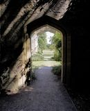 I motivi della proprietà del sudeley fortificano il winchcombe il glouce dei cotswolds Fotografia Stock