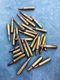 I 5 munizioni di 56Ã-45mm Immagine Stock Libera da Diritti