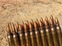 I 5 munizioni di 56Ã-45mm Immagini Stock Libere da Diritti