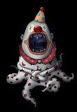 I munnen av clownen Royaltyfria Foton