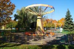 I nöjesfältet avsluta säsongen hösten kommer har Arkivbild