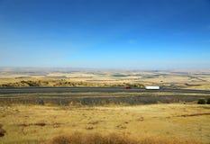 I-84 na passagem de Deadman Fotos de Stock Royalty Free