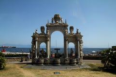 I Naples Arkivfoto