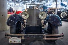 I naturlig storlek lyxig bil Mercedes 24/100/140 PS, 1925 Royaltyfria Foton