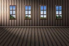 I naturligt synligt för hem- yttersida fönstret vektor illustrationer