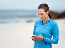 I need good music for my run Stock Images