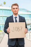 I need a job! Royalty Free Stock Images