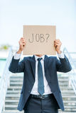 I need a job! Royalty Free Stock Photos