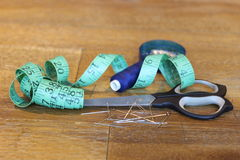 Items Used By A Tailor Royalty Free Stock Photos - Image: 33499968