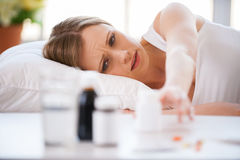 I need to take medicines. Royalty Free Stock Images