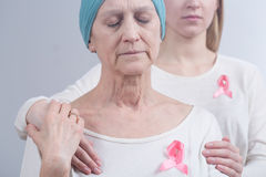 I need you to fight this cancer Royalty Free Stock Photo