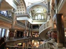 I negozi del forum a Caesars fotografia stock libera da diritti
