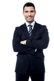 I am new boss here. Stock Image