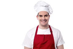 I am the new chef here. Stock Photo
