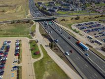 I25 in Nord-Denver Stockbild