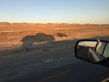 i5 nordgående Kalifornien Silverado 2015 Arkivfoton