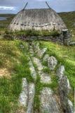 I norvegesi macinano, Shawbost, isola di Lewis Fotografia Stock