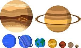 I nostri pianeti illustrazione di stock