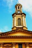 i Notting Hill England Europa gammal konstruktion och historia Arkivfoton