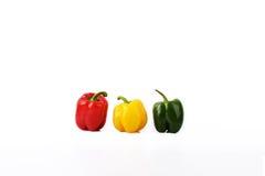 I nuovi peperoni minimalisti di obiettività 85 - tre Immagine Stock Libera da Diritti