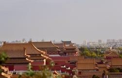I Oktober 29, 2017 Jingshan kulle Chunting miljon Royaltyfria Bilder