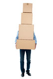 I am overloaded, help me! Royalty Free Stock Photos