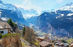 I paesaggi della Svizzera Fotografie Stock