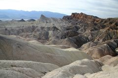 I paesaggi osservano in Death Valley Immagini Stock Libere da Diritti