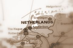 I Paesi Bassi, anche conosciuti senza formalità come Olanda fotografia stock