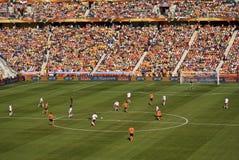 I Paesi Bassi contro la Danimarca - il WC 2010 della FIFA fotografia stock
