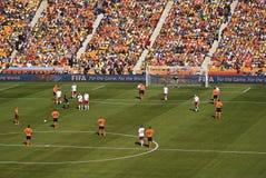 I Paesi Bassi contro la Danimarca - il WC 2010 della FIFA immagine stock libera da diritti