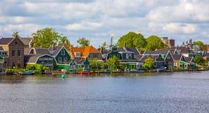 I Paesi Bassi, Olanda, paesaggio rurale Fotografia Stock Libera da Diritti