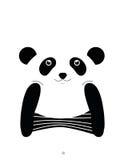 I am panda. Stock Image