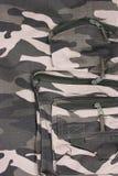 I pantaloni del cammuffamento della tasca del primo piano Fotografie Stock Libere da Diritti
