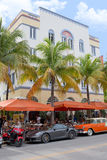 I Paparazzi Restaurant, South Beach Royalty Free Stock Photos