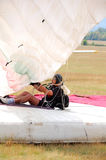 I paracadutisti fotografia stock libera da diritti