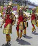 I partecipanti del festival di Kadayawan esegue Fotografia Stock Libera da Diritti