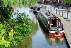 I passaggi del canale del sindacato dello Shropshire attraverso Chester fotografia stock libera da diritti