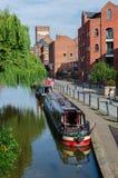 I passaggi del canale del sindacato dello Shropshire attraverso Chester fotografie stock libere da diritti