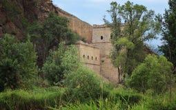 I passaggi della Grande Muraglia Fotografia Stock