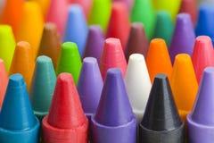 I pastelli si chiudono in su Fotografie Stock Libere da Diritti