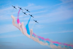 I patrioti Jet Team Immagine Stock