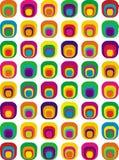 i pattern seventies Στοκ Εικόνες