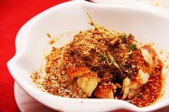 I pesci hanno cucinato nello stile di Shiquan Fotografia Stock