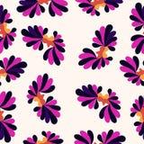 I petali modellano il fondo astratto variopinto Fotografia Stock Libera da Diritti