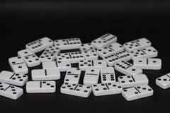 i pezzi di domino fotografia stock libera da diritti